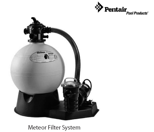 Bình lọc giấy Pentair Meteor Filter System
